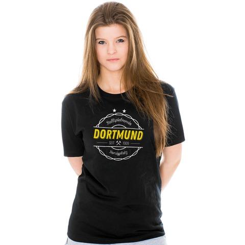 Vintage Dortmund Girl-Shirt von Schwatzgelb - Girlies jetzt im Schwatzgelb Store