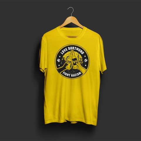 Fight Racism by Schwatzgelb - t-shirt - shop now at Schwatzgelb store