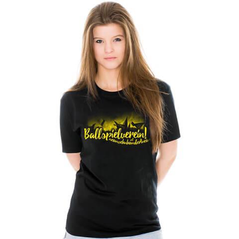 √Kurvenleuchten Girl-Shirt von Schwatzgelb - Girlies jetzt im Schwatzgelb Shop