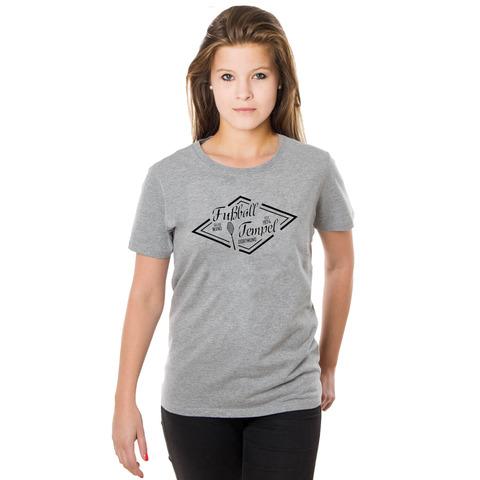 √Fußballtempel Girl-Shirt von Schwatzgelb - Girlies jetzt im Schwatzgelb Shop